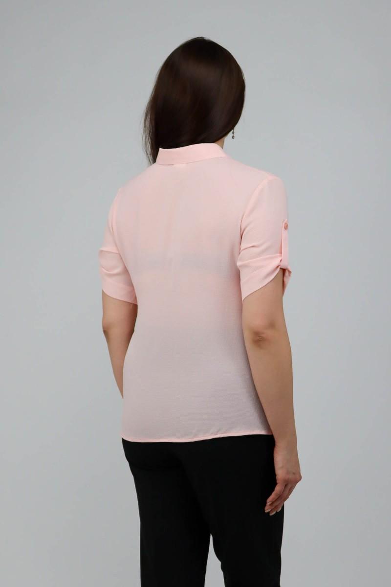 Легкая рубашка из крепа