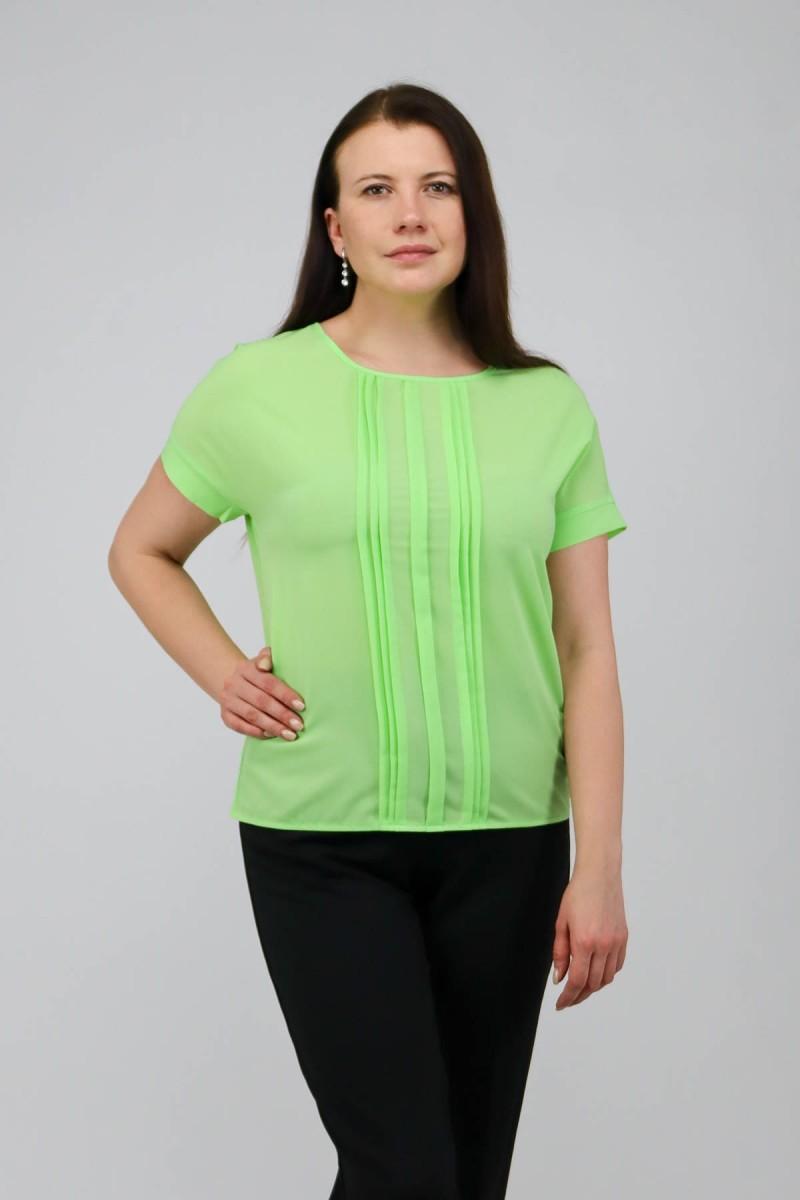 Блузка со складочками